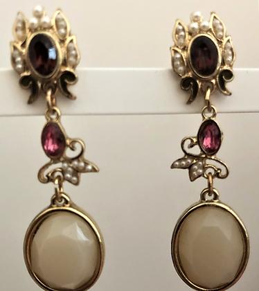 Pretty Designer Statement  Dangle Earrings