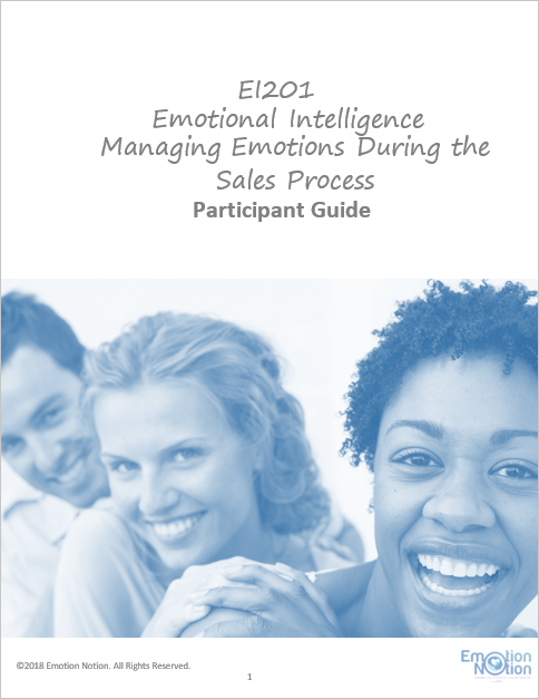 Managing Emotions in the Sales Process