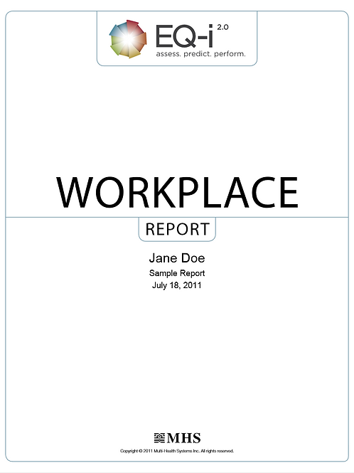 EQ-i2.0 Individual Workplace Report