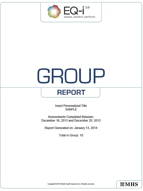 EQ-i Group Report