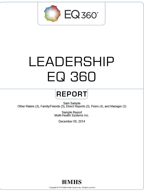 EQ-360 Leadership Report