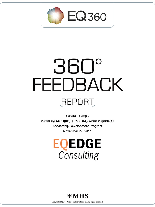 EQ360 Workplace Report