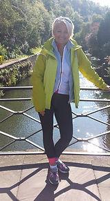 Agnès, propriétaire de l'Auberge des Chemins à Moissac