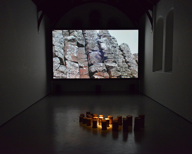 Political Land, Poetic Territory, Installation Shot at St, Carthage Hall Lismore Castle Ar