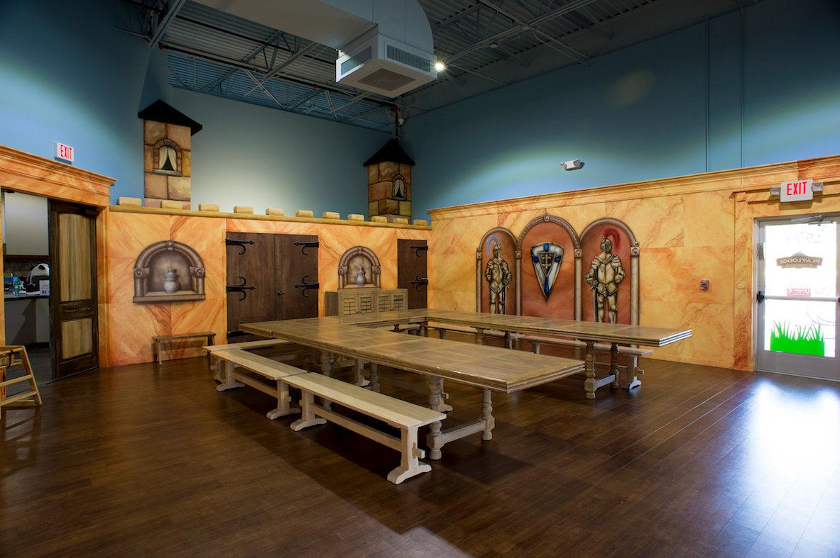 Castle Party Room Rental