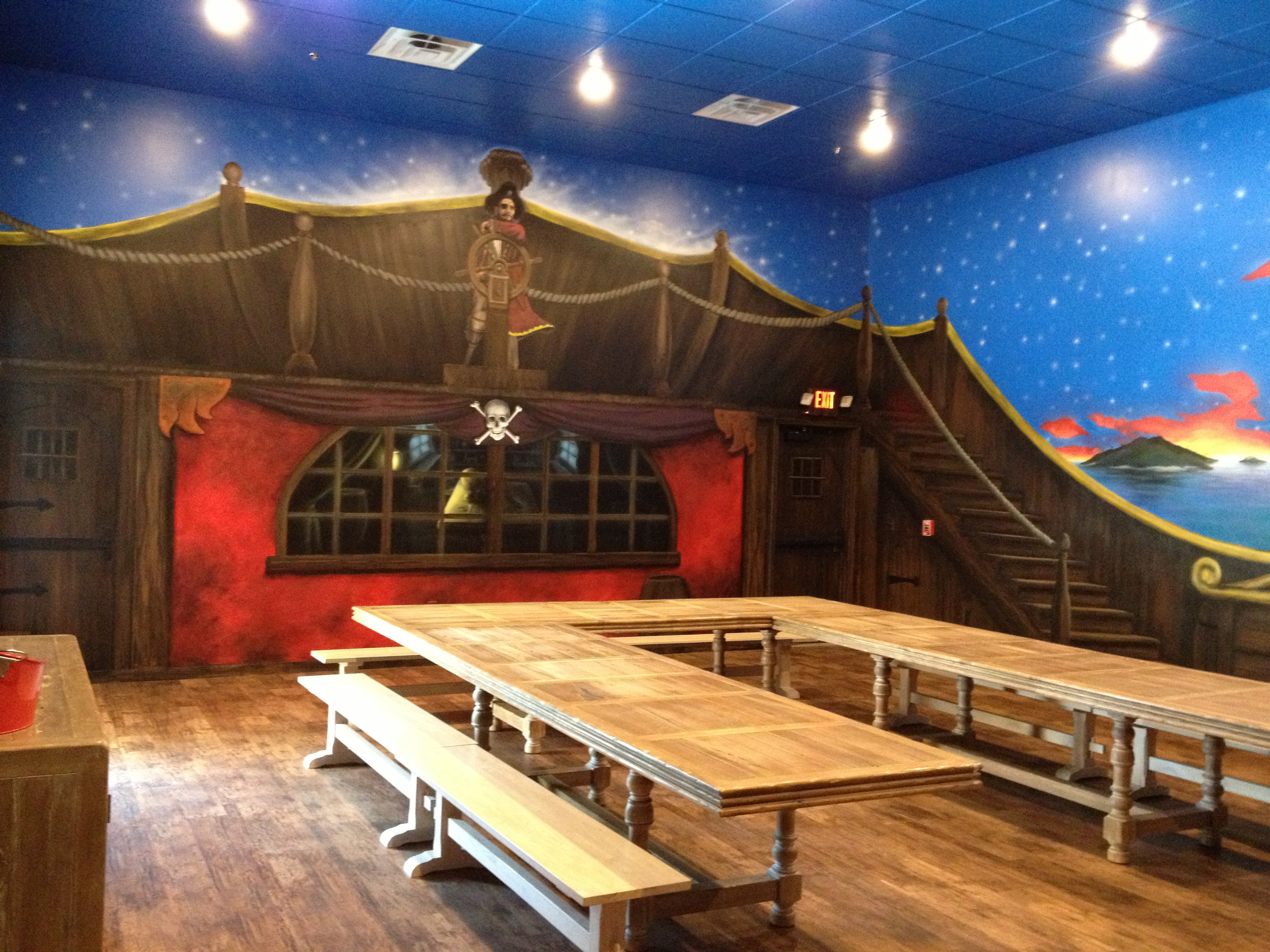 Pirate Party Room Rental
