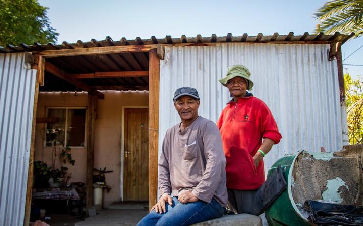 Kalahari couple