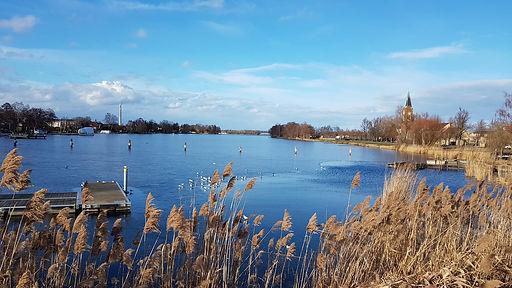 Wasser Havel nach Berlin Potsdam