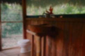 Baño en madera Shiwawaco