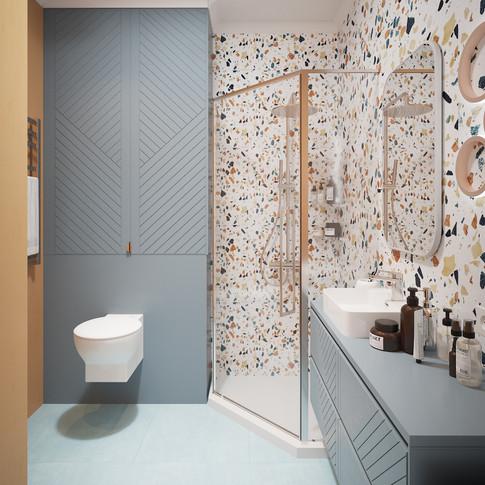 Ванна для хозяев квартиры