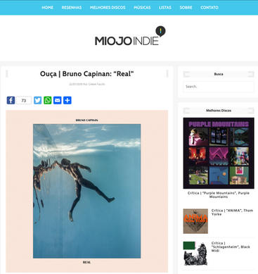 MIOJO INDIE - Aug. 2019
