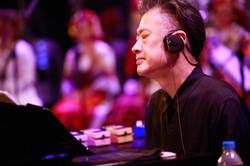 with Japanese Composer Jun Miyake
