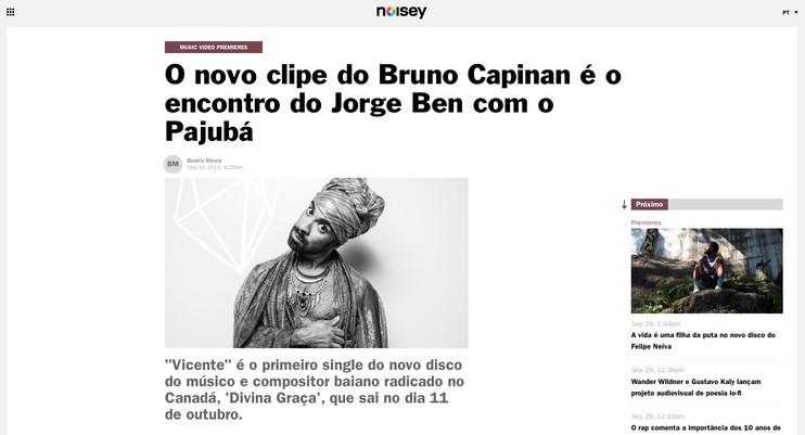 Bruno Capinan. Brazilian Singer. Cantor.