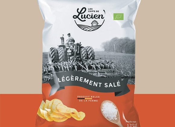 Chips Lucien salé 125g