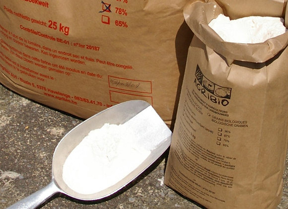 Farine Froment blanche/witte tarwemeel 65% 3kg