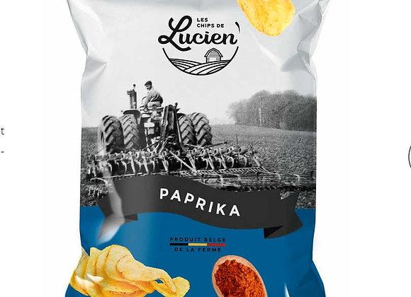 Chips Lucien paprika 125g
