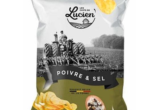Chips Lucien poivre&sel 125g