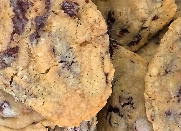Cookie chocolat noir/zwarte chocolade 100g