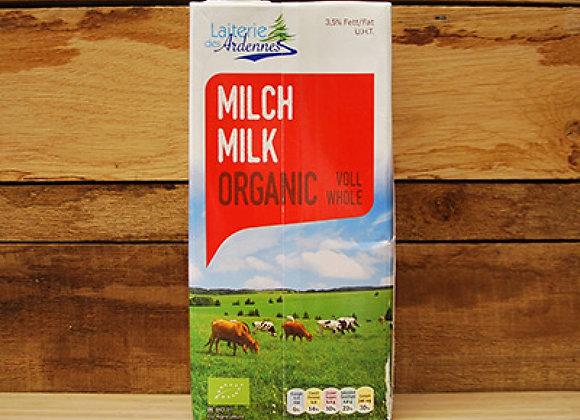 Lait entier/volle melk UHT 1l
