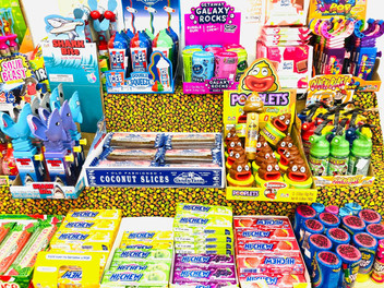 Candy Bars and Novelties