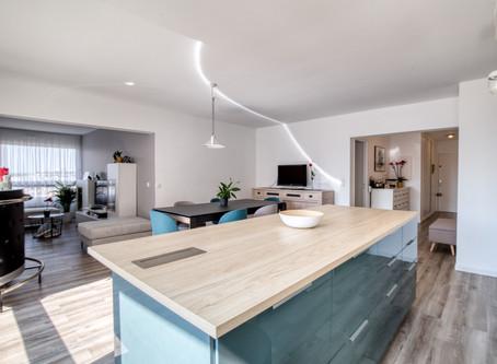 AVANT / APRES : Un lieu de vie modernisé et chaleureux