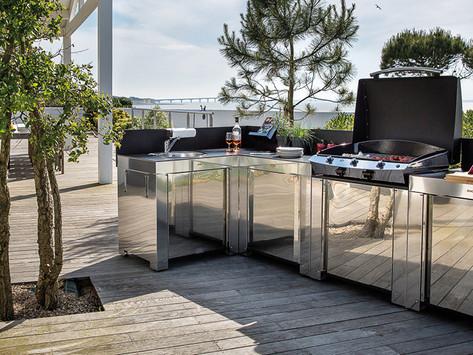 Aménager une cuisine extérieure : Nos astuces de pro !