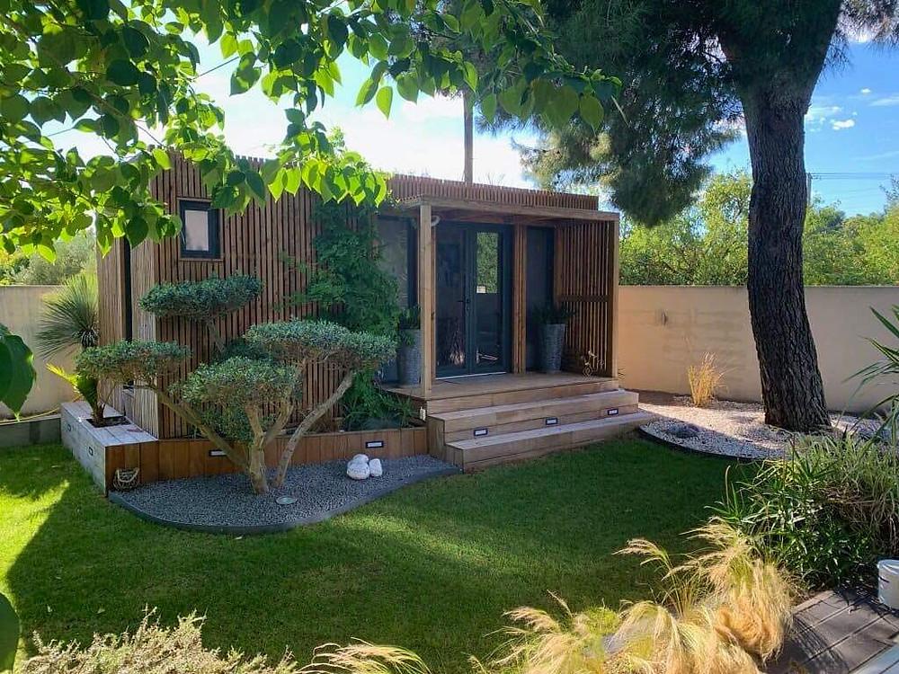 cabane en bois nature design paysagisme bardage barry & associes