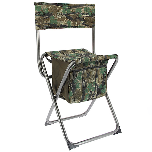 NGT Nomad Quick Folding Chair with storage compartment