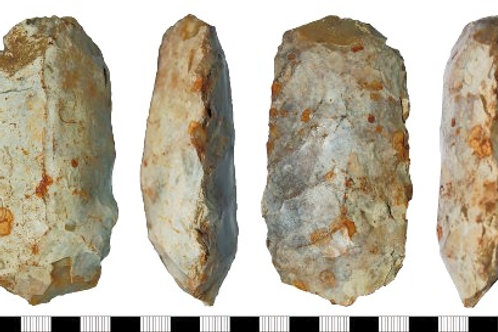 MESOLITHIC FLAKED AXEHEAD