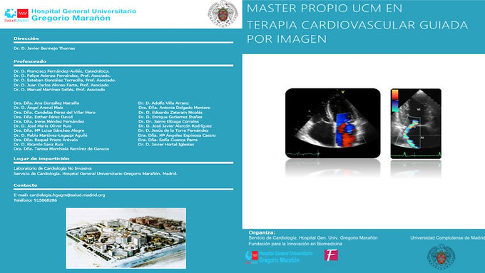 Máster en Terapia Cardiovascular Guiada por Imagen