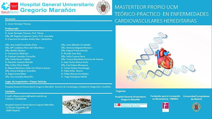 Máster en Enfermedades Cardiovasculares Hereditarias
