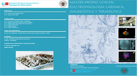 Máster en Electrofisiología Cardiaca, Diagnóstica y Terapéutica