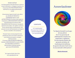 Programma semestrale 2019 di Spazio Gestalt