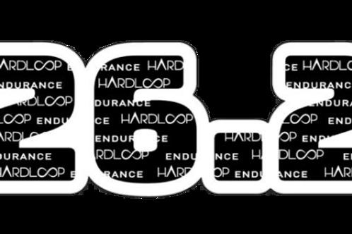 Hardloop 26.2 Sticker