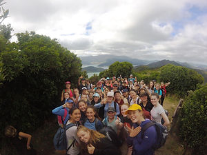 Wellington Girls' College, Ausflug