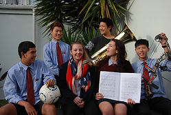 Internationale Schüler am Kapiti College