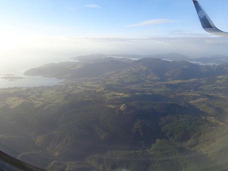 Landung in Dunedin