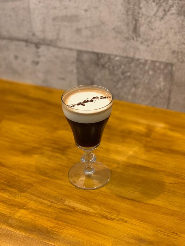 Irish 'Gin' Coffee