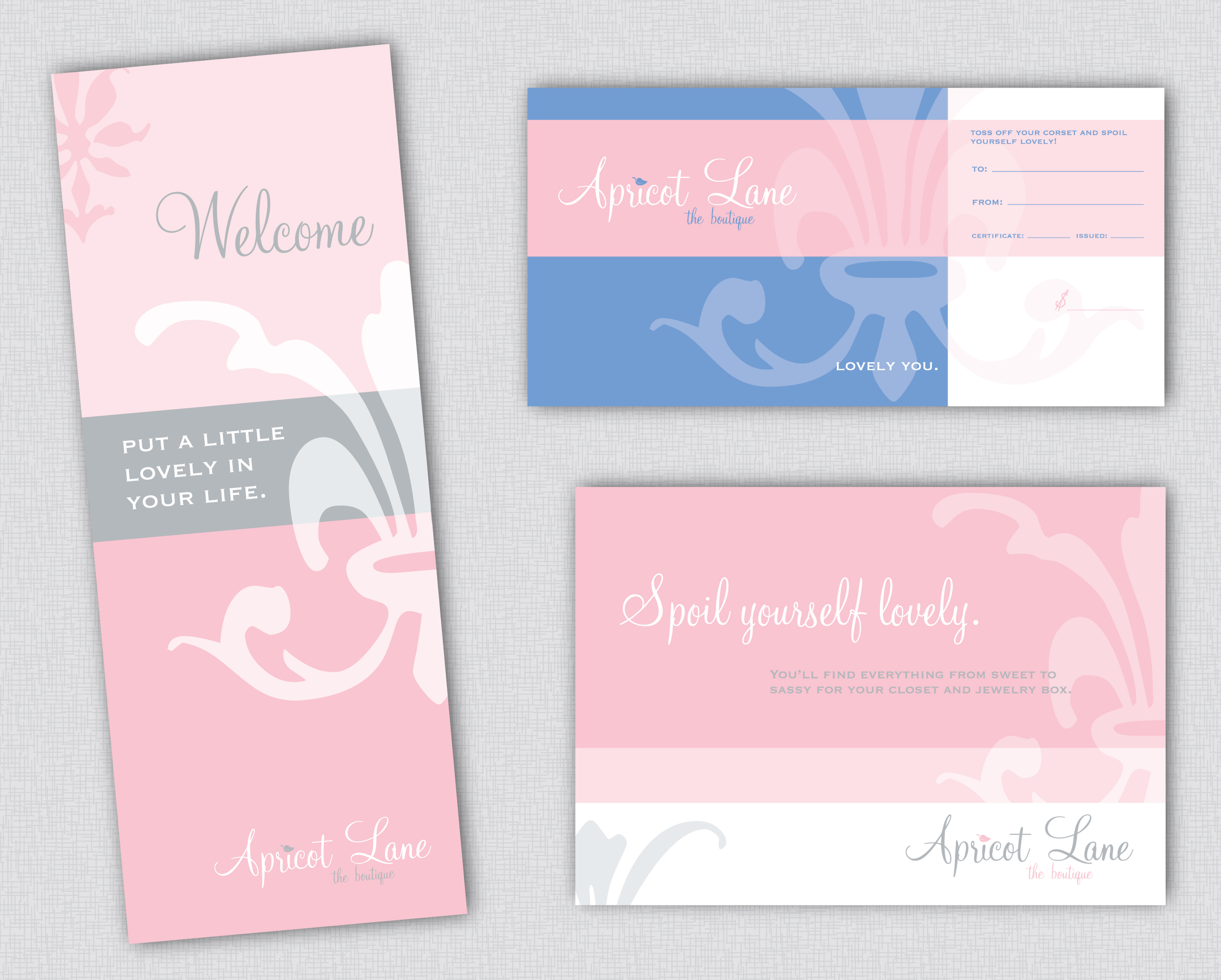 Apricot Lane | Sign, Ad, Gift Card