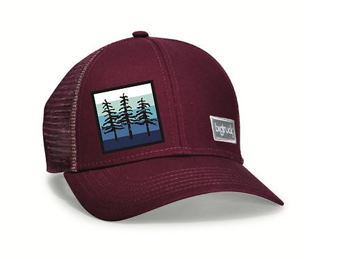 Lake Tahoe Classic bigtruck® Hat in Wine