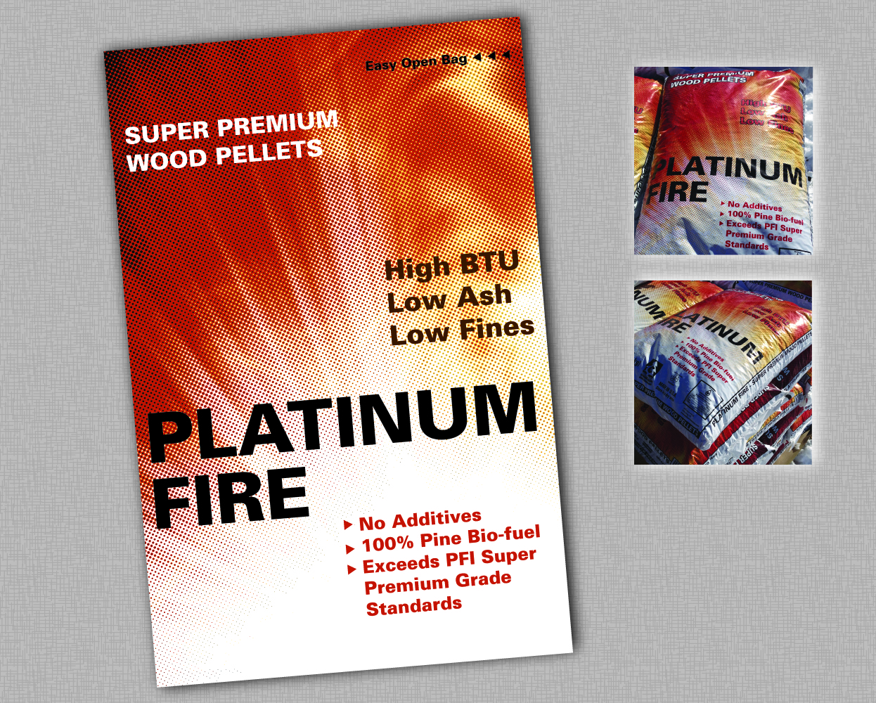 Platinum Fire | Packaging