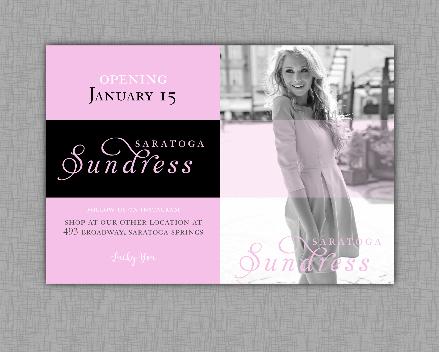 Saratoga Sundress | Mall Sign