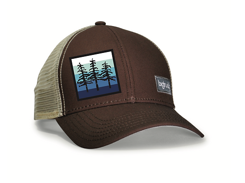 Lake Tahoe Classic bigtruck® Hat in Brown