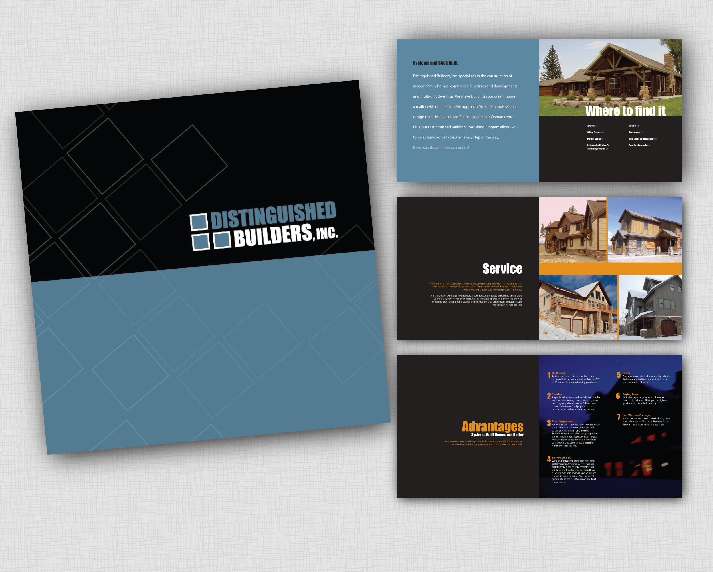 Distinguished Builders | Brochure