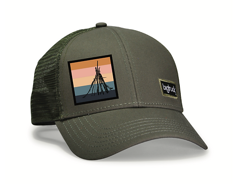 Folsom Lake Classic bigtruck® Hat in Olive