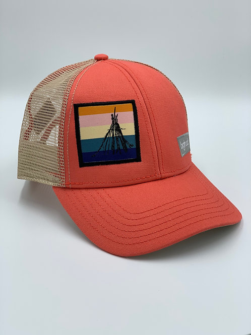 Folsom Lake Classic bigtruck® Hat in Salmon