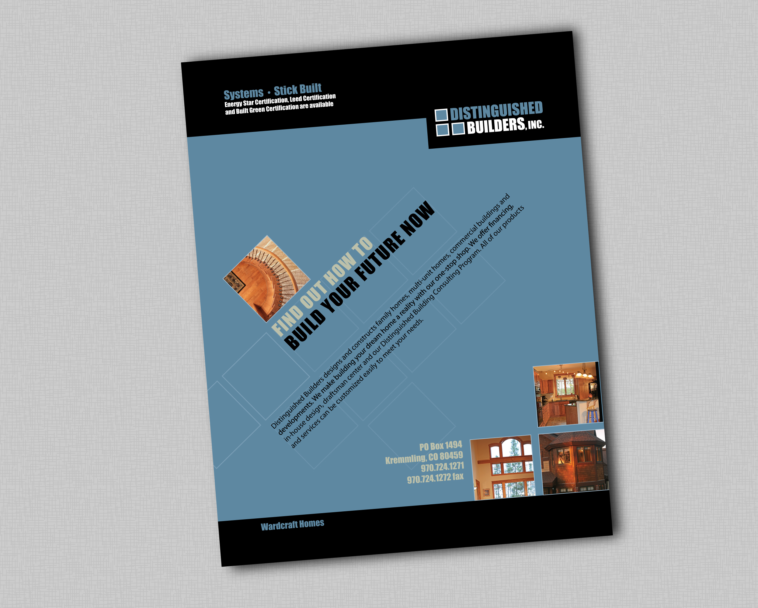 Distinguished Builders | Ad Campaign