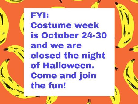 Costume Week