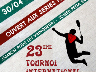 23ème Tournoi International de Bayonne