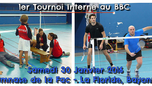 1er Tournoi interne du BBC